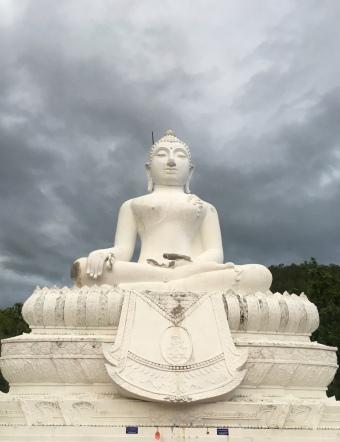 Made it to the top! Big Buddha